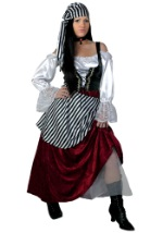 Pirate Wench Deluxe Costume