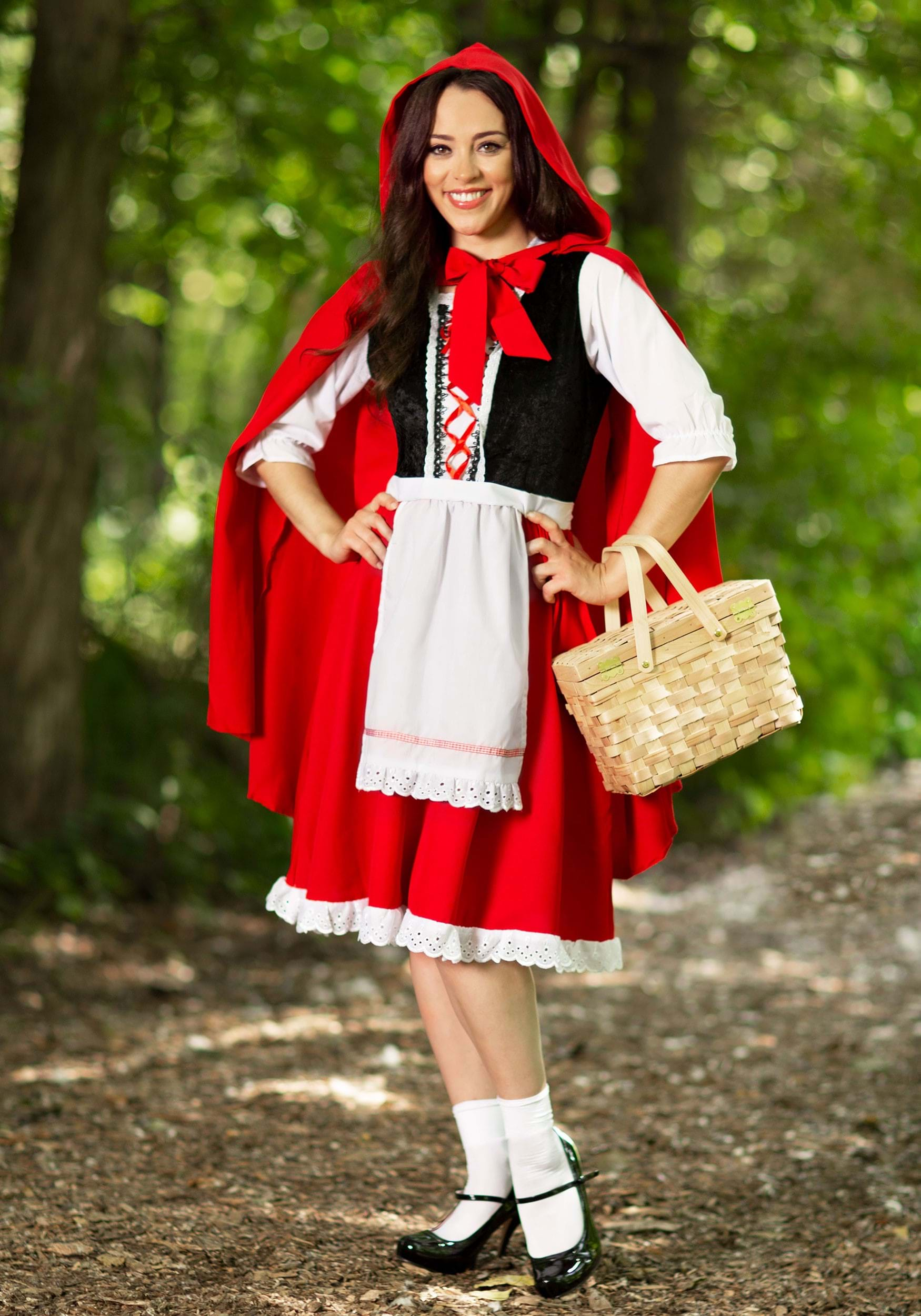 Adult Red Riding Hood Costume Little Red Riding Hood...