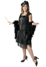 Jazzy Black Flapper Costume