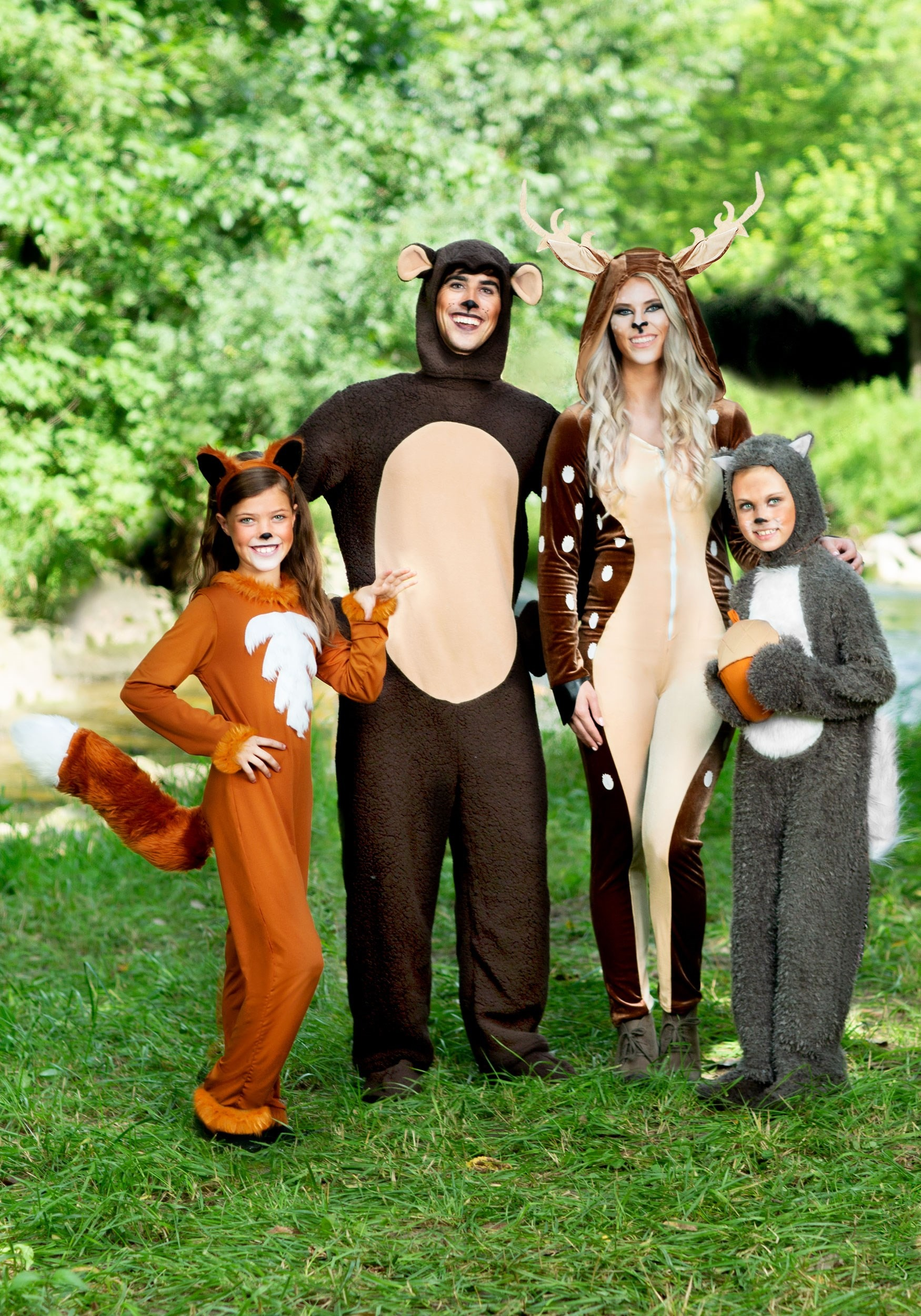Brown Bear Costume - Animal Halloween Costumes for Adults