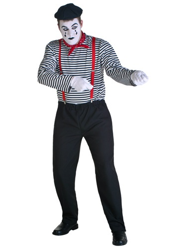 Paris Mime Costume