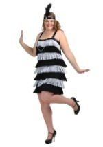 Plus Size 1920 Flapper Costume