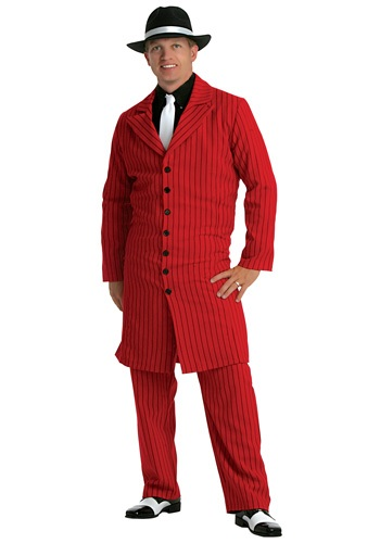 Gangster Plus Size Red  Zoot Suit