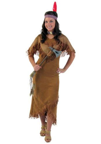 Plus Size Indian Maiden Costume