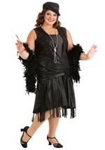 Plus Size Jazzy Flapper Costume