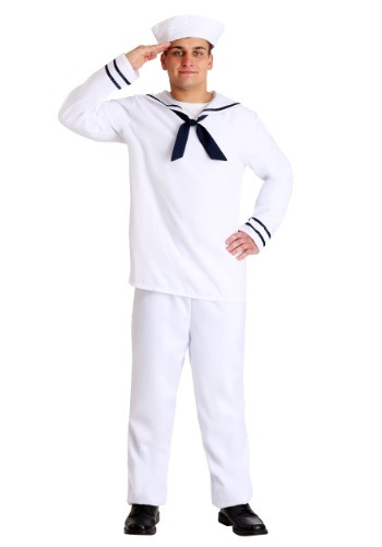 Mens Plus Size Sailor Uniform