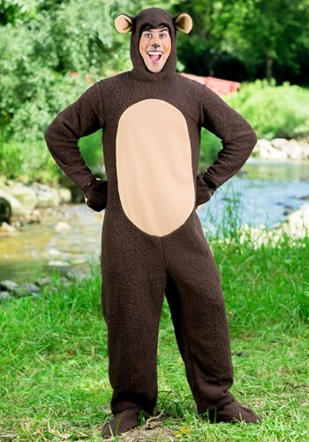 Mens Plus Size Bear Costume