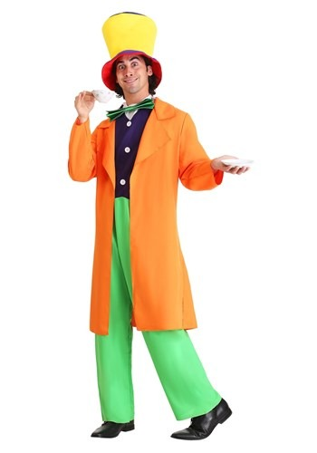 Men's Plus Size Mad Hatter Costume Update