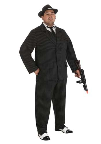 Plus Size Gangster Deluxe Costume