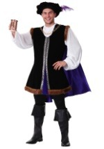 Noble Plus Size Renaissance Man Costume
