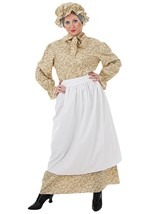 Ladies Plus Size Auntie Em Costume