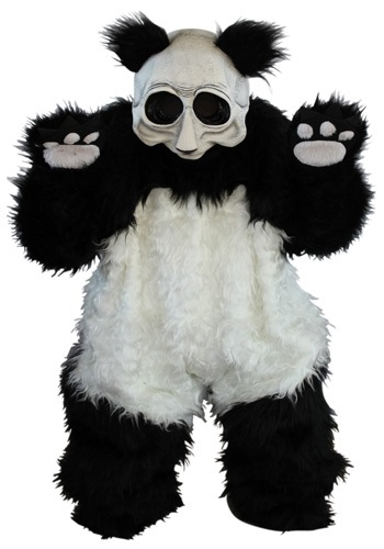Creepy Zombie Panda Costume