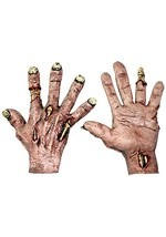 Decomposing Zombie Flesh Hands
