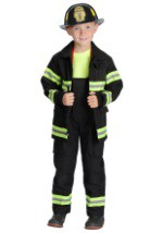 Black Kids Firefighter Costume