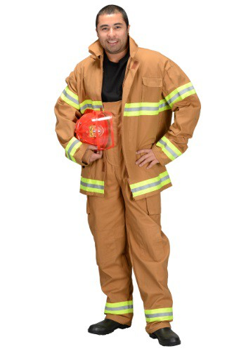 Adult Fire Fighter Costume