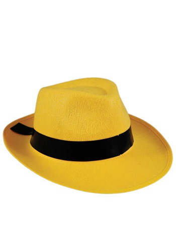 Bright Yellow Fedora Hat