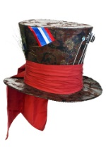 Brown Mad Hatter Hat