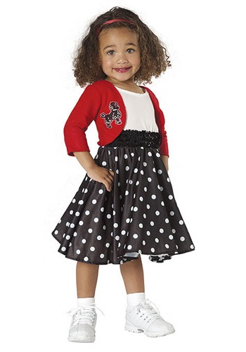 50s Toddler Girls Costume