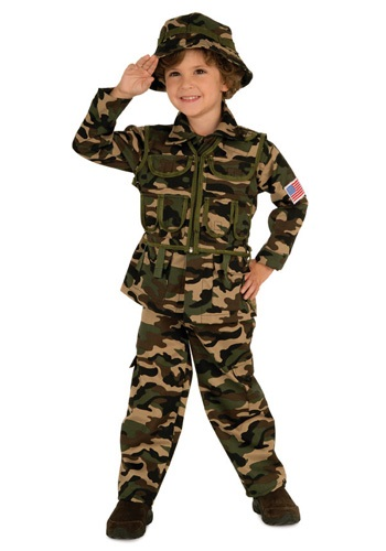 Army Child Costume