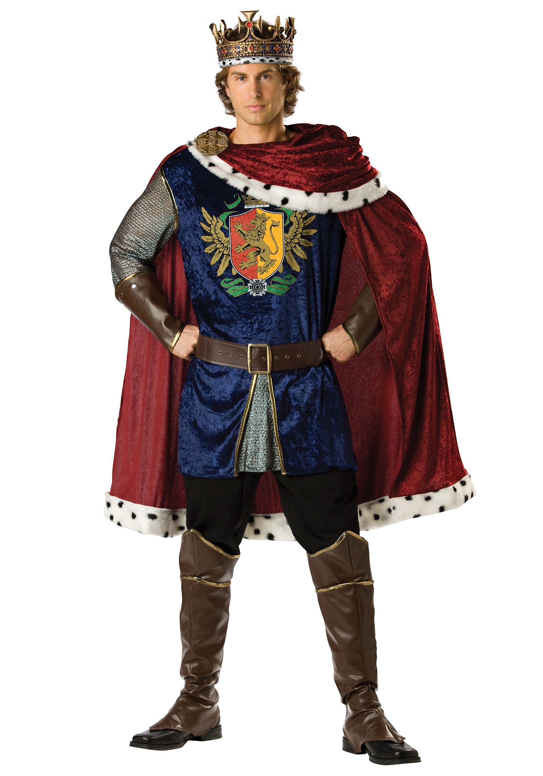 Renaissance costumes adult kids medieval renaissance costume mens benevolent king costume solutioingenieria Image collections