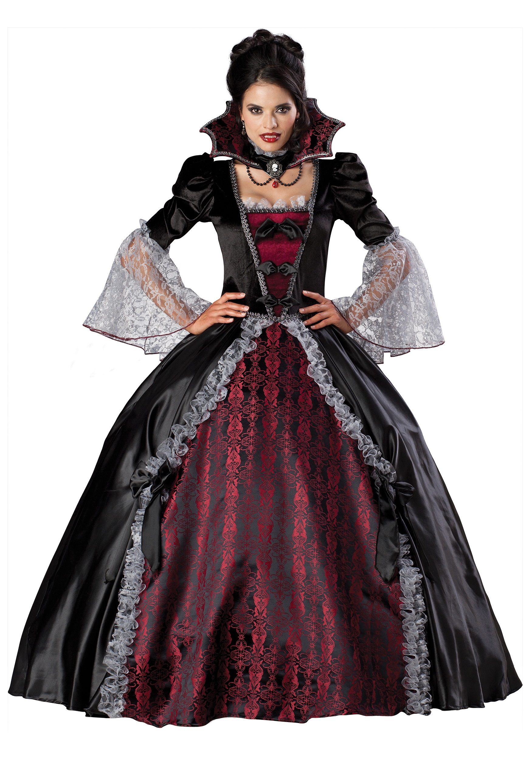 French V&iress Costume  sc 1 st  Halloween Costume Ideas & French Vampiress Costume - Womens Vampire Costumes