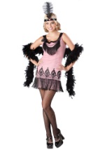 Pink Teen Flapper Costume