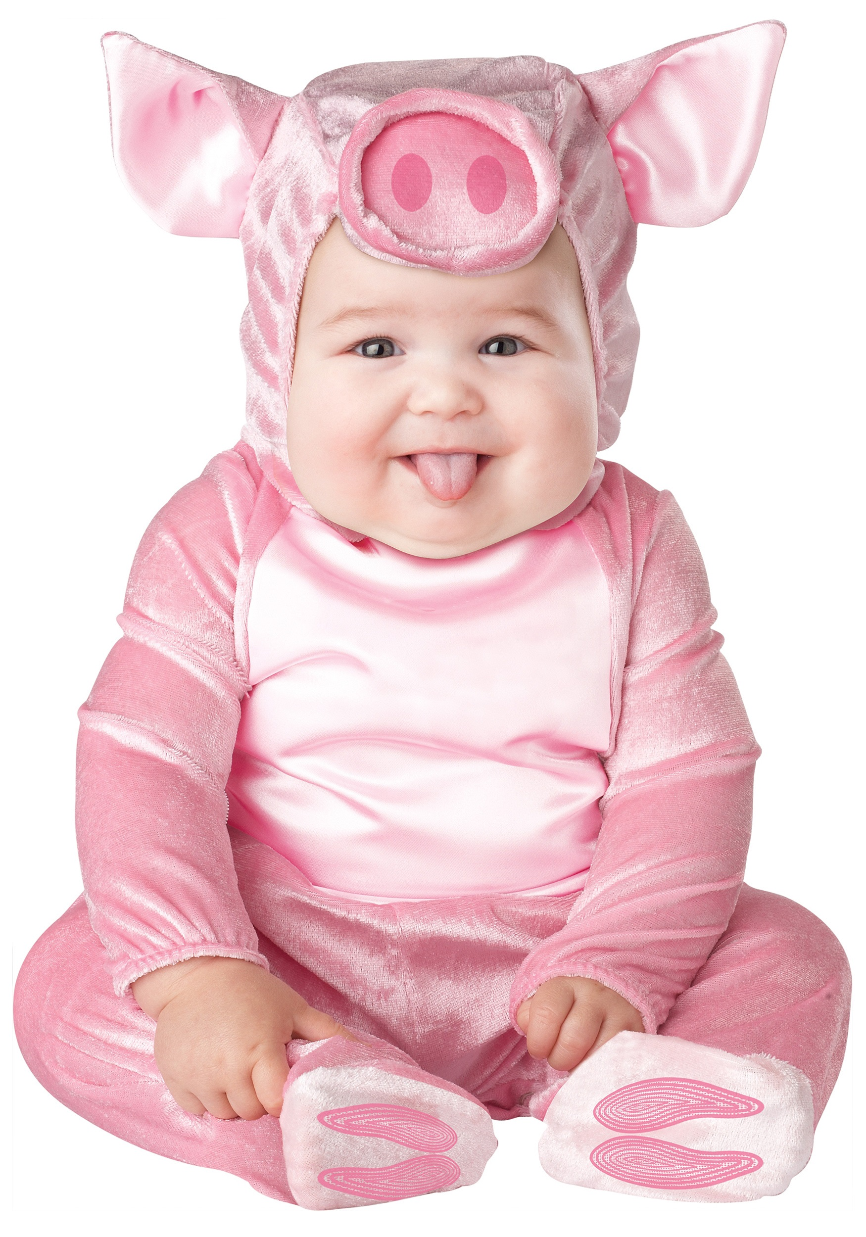 Infant Lil Pink Piggy Costume Baby Halloween Ideas