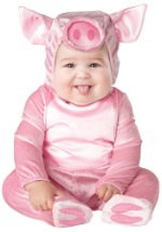Infant Lil Pink Piggy Costume