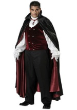 Elite Plus Size Vampire Costume