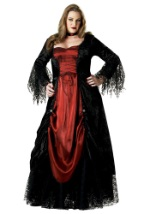 Elite Plus Size Vampire Lady Costume