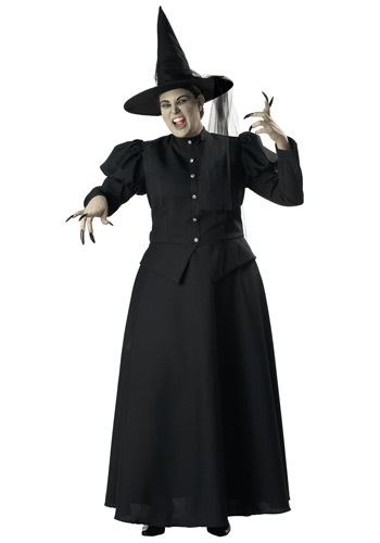 Black Witch Plus Size Costume