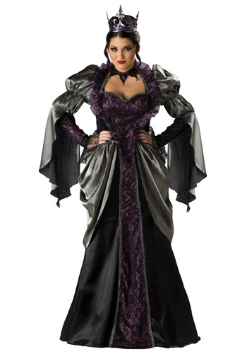 Womens Plus Size Wicked Queen Costume