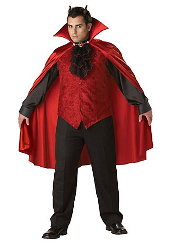 Plus Size Men's Devil Costume