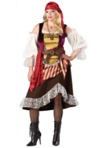 Plus Size Darlin' Deckhand Pirate Costume