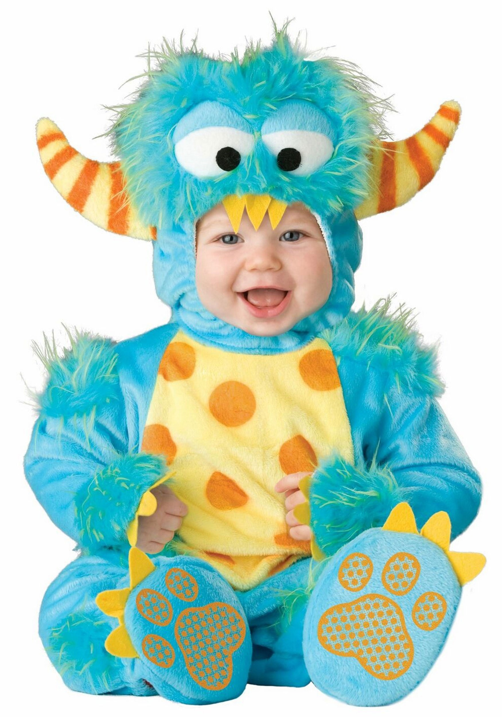 Lil Baby Monster Costume  sc 1 st  Halloween Costume Ideas & Lil Baby Monster Costume - Infant Monsters Inc Costumes