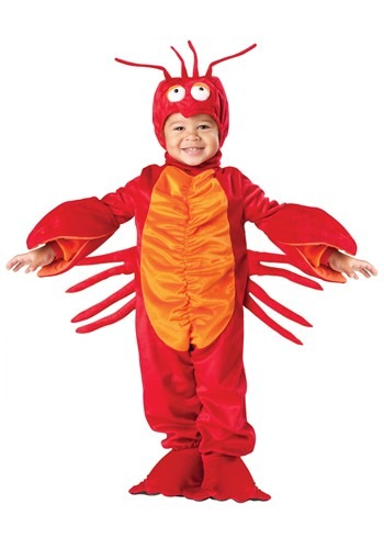 Red Toddler Lobster Costume