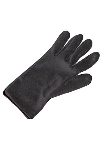 Kids Basic Black Gloves