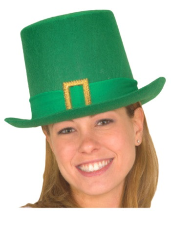 St. Patricks Day Tall Green Hat