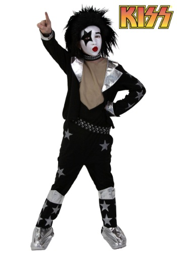 Kids KISS Screenprint Starchild Costume
