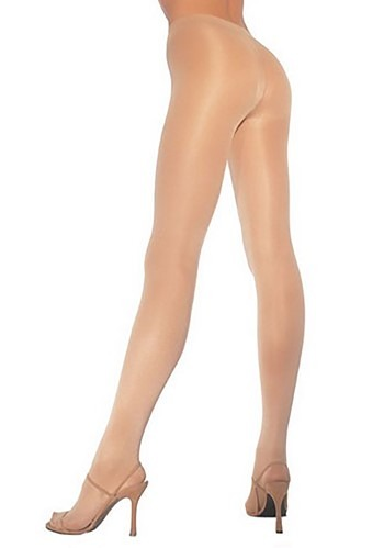 Womens Plus Size Opaque Nude Pantyhose
