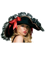 Sexy Black Pirate Hat