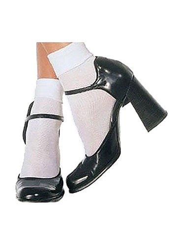 White Ankle Dorothy Socks