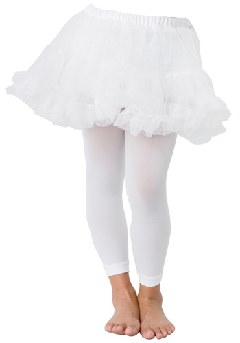 Childrens White Petticoat