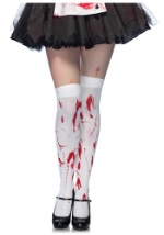 Bloodied Thigh High Stockings