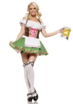 Sexy German Beer Girl Costume