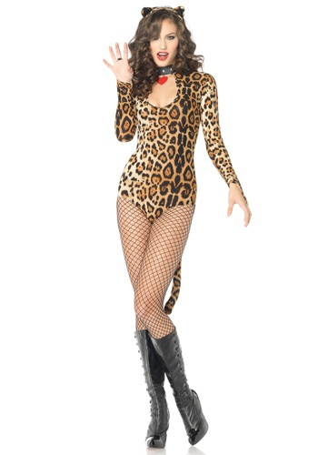 Sexy Spotted Leopard Costume
