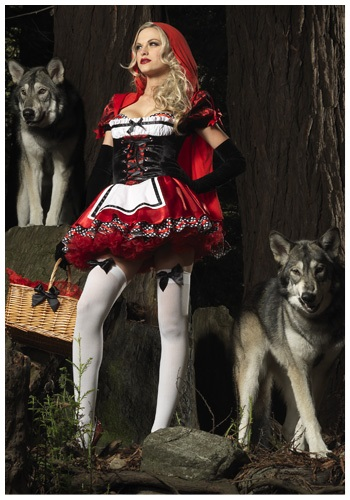 Divine Sexy Riding Hood Costume