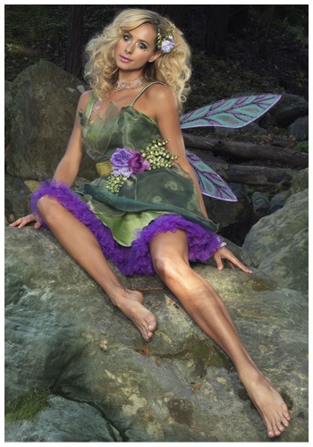 Womens Sexy Forest Fairy Costume
