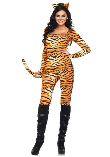 Womens Wild Tiger Catsuit