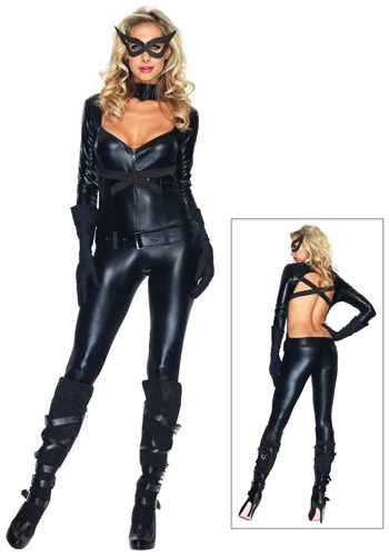 Black Cat Burglar Costume